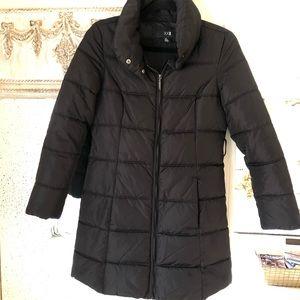 XXI Black Puffer Coat size small